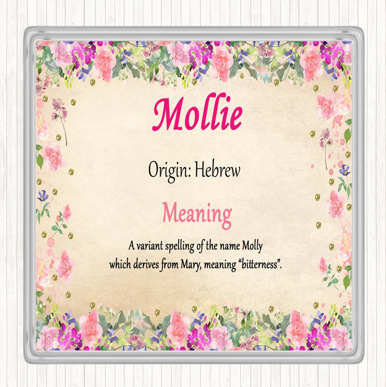 Mole Personalised Drinks Mat Coaster
