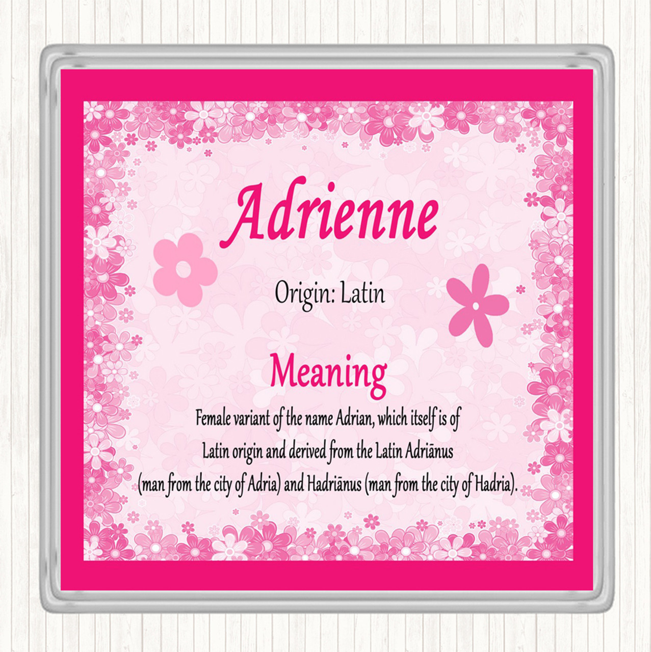 the meaning of adrienne