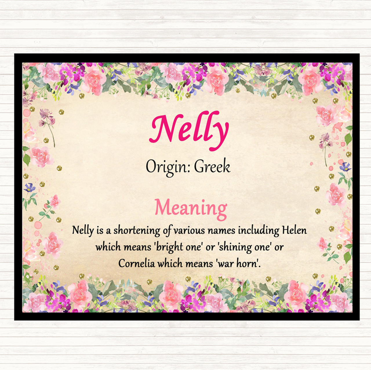 What is the meaning of the name nelly  Name Nelly  2019-07-27