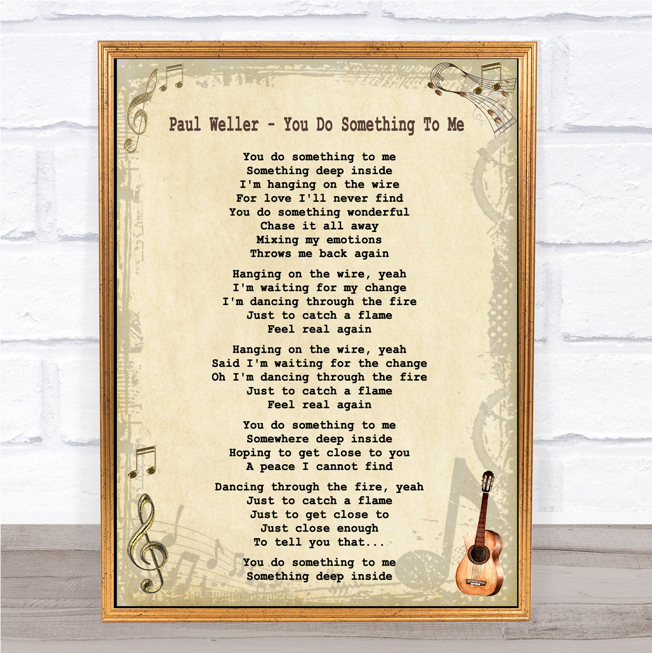 First Dance Personalised Song Your Song PAUL WELLER YOU DO SOMETHING TO ME
