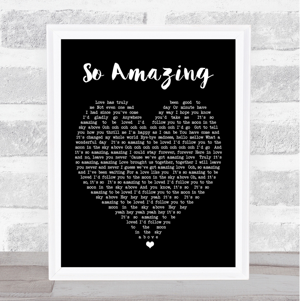 Luther Vandross With A Christmas Heart.So Amazing Luther Vandross Black Heart Song Lyric Quote Print