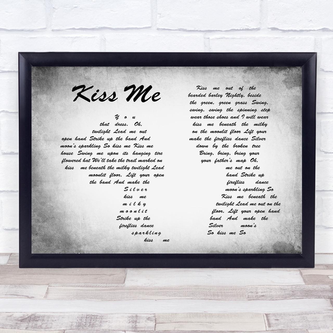 Album Print Lyrics Gift Greatest Hits ACDC Poster Framed Original Art