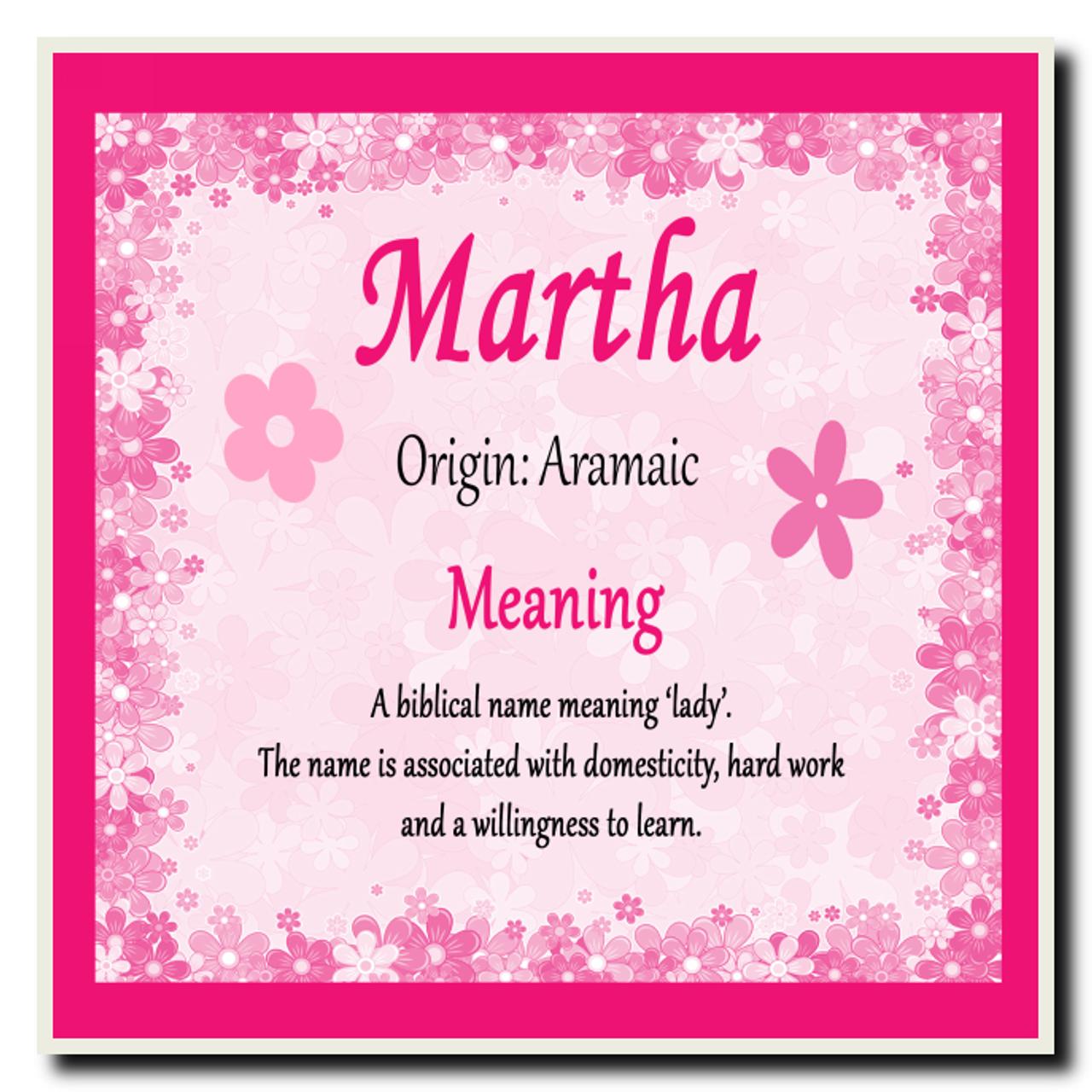 Martha Name