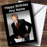 Rod Stewart Personalised Birthday Card