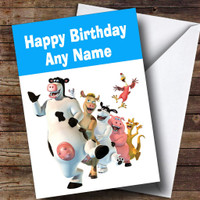 Baked Beans Funny Personalised Birthday Card