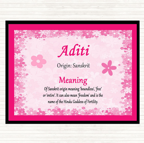 18++ Aditi and meaning ideas