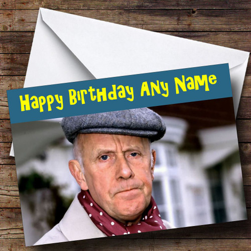 Victor Meldrew Personalised Birthday Card