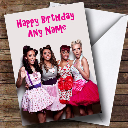 Little Mix Personalised Birthday Card