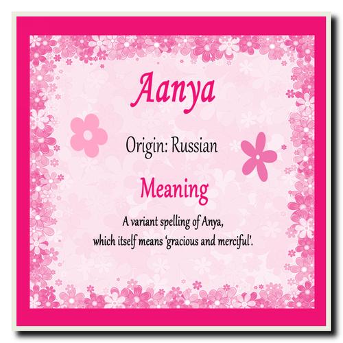 aanya name
