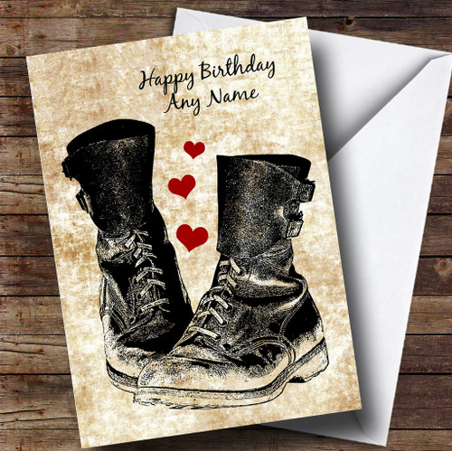 Puss In Boots Personalised Birthday Card The Card Zoo