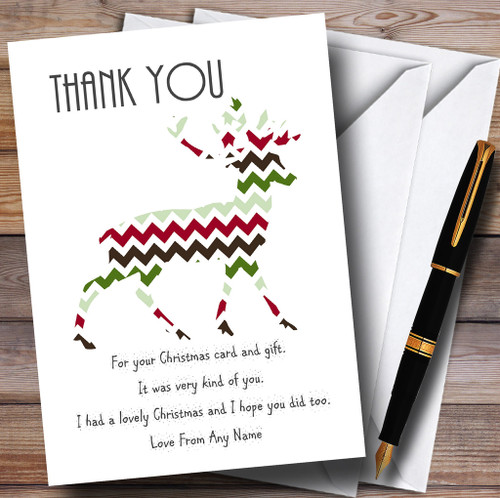 Personalised Party Invitations Christmas Thank You Cards Page 1