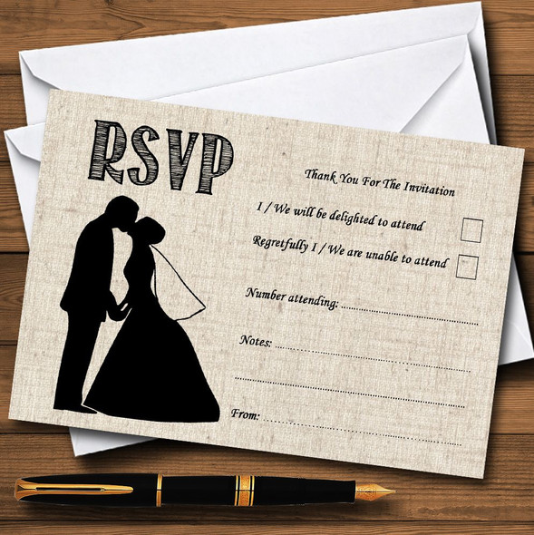 Cotton Chic Personalised RSVP Cards