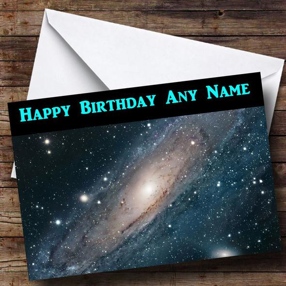 Milky Way Personalised Birthday Card