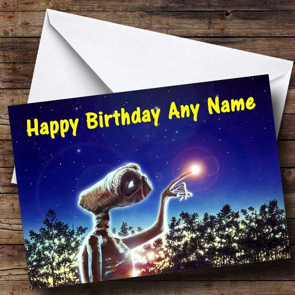ET Personalised Birthday Card