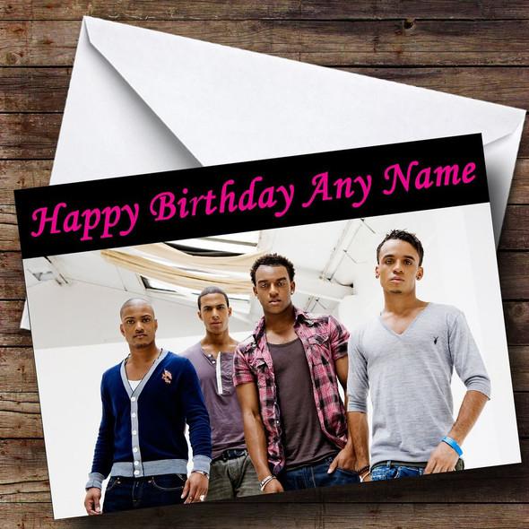 Jls Personalised Birthday Card