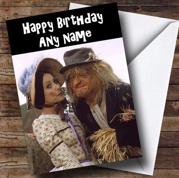 Worzel Gummidge Personalised Birthday Card
