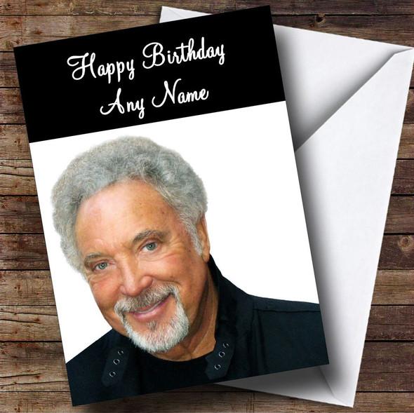 Tom Jones Personalised Birthday Card