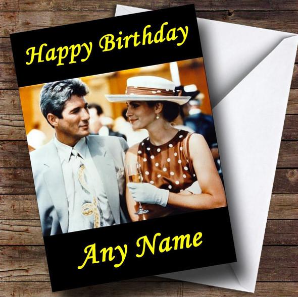 Pretty Woman Personalised Birthday Card