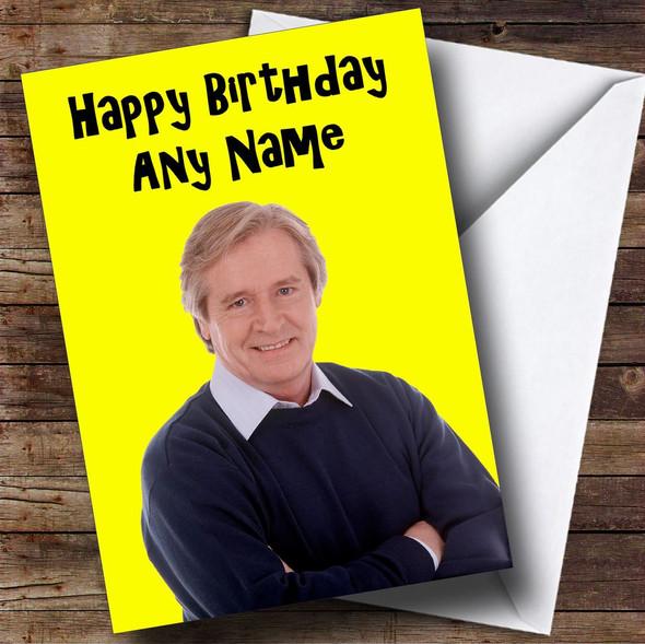 Ken Barlow Personalised Birthday Card
