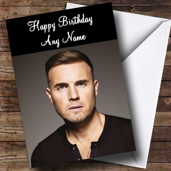 Gary Barlow Personalised Birthday Card