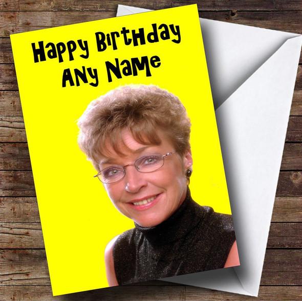 Deirdre Barlow Personalised Birthday Card