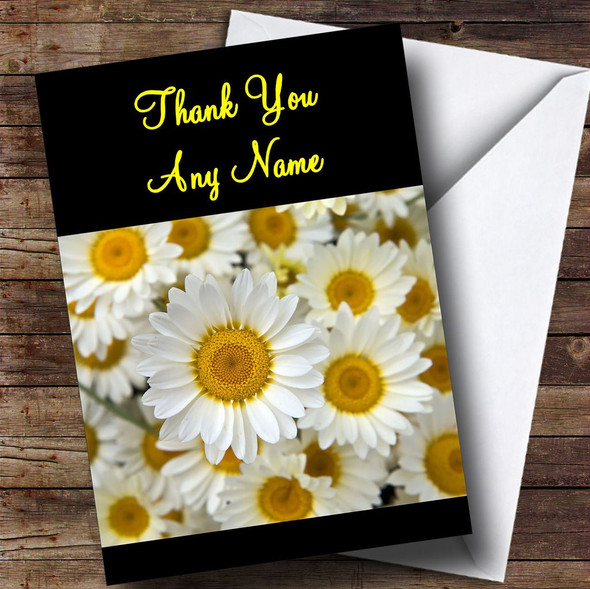 Daisy Personalised Thank You Card
