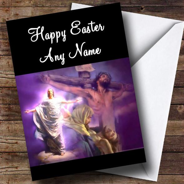 Jesus Christ Personalised Easter Card