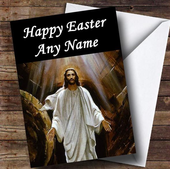 Christian Jesus Christ Personalised Easter Card