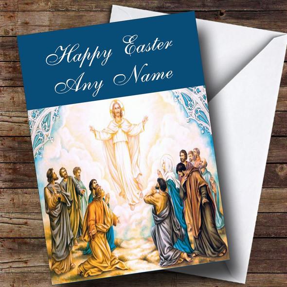 Jesus Christ Christian Personalised Easter Card