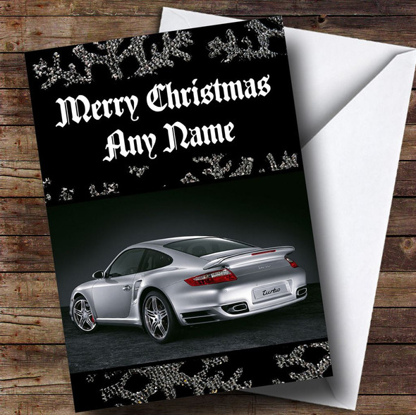 Porsche  Personalised Christmas Card