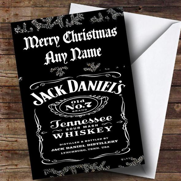 Jack Daniels Personalised Christmas Card
