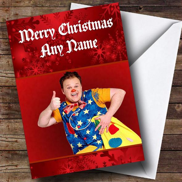 Mr Tumble Personalised Christmas Card