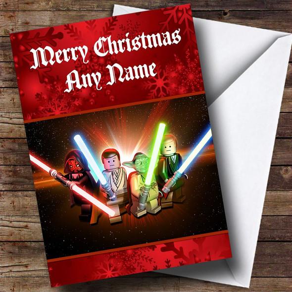 Lego Star Wars Personalised Christmas Card