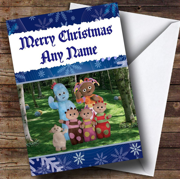 In The Night Garden Personalised Christmas Card