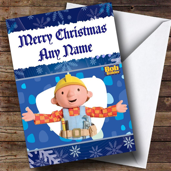 Bob The Builder Personalised Christmas Card