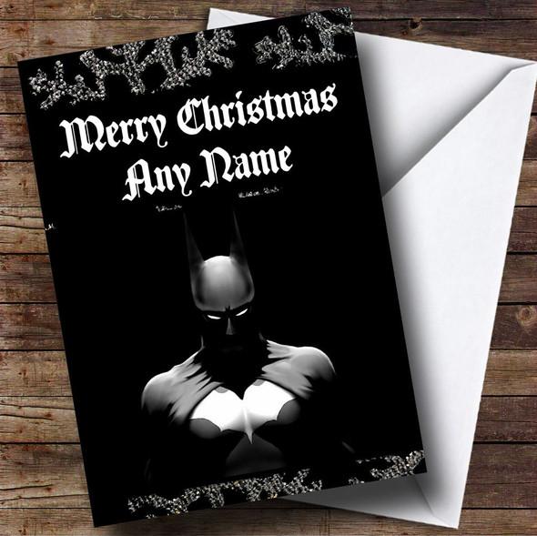 Batman Personalised Christmas Card