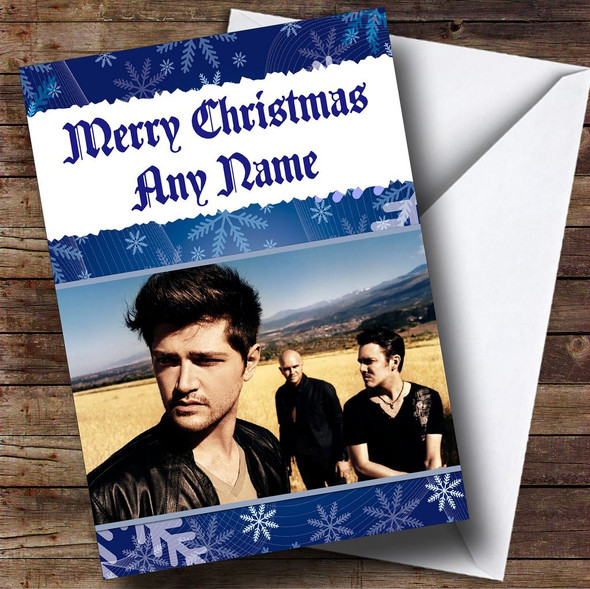 The Script Personalised  Christmas Card