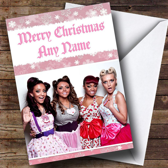 Little Mix Personalised  Christmas Card