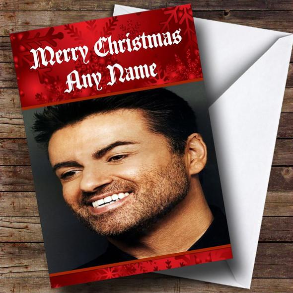 George Michael Personalised Christmas Card
