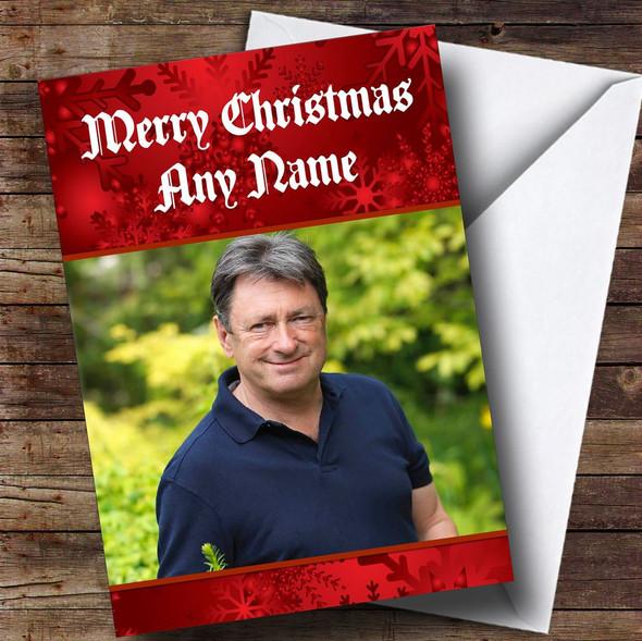 Alan Titchmarsh Personalised  Christmas Card