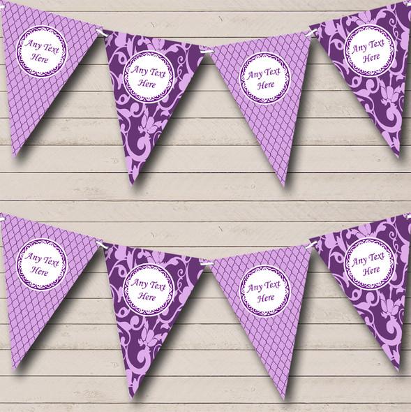 Cadbury Purple Personalised Birthday Party Bunting