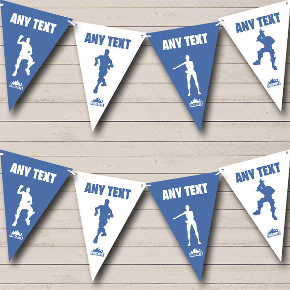 Fortnite Dances Personalised Birthday Party Bunting Banner Garland Flags
