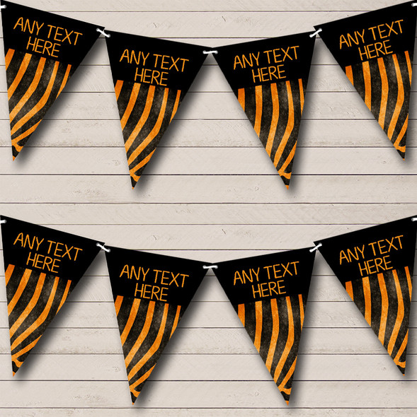 Animal Print Tiger Personalised Hen Party Bunting