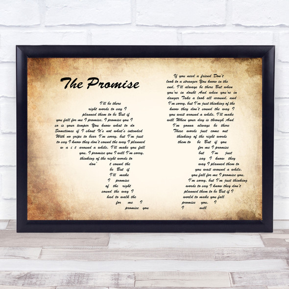 Sturgill Simpson The Promise Man Lady Couple Song Lyric Quote Print