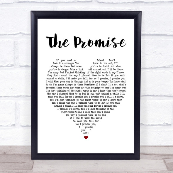 Sturgill Simpson The Promise Heart Song Lyric Quote Print
