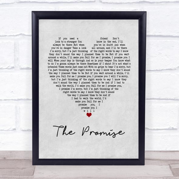 Sturgill Simpson The Promise Grey Heart Song Lyric Print