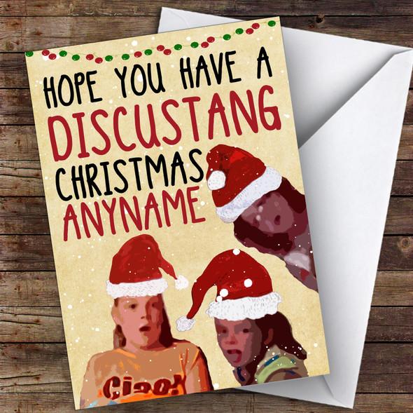 Disgustang Meme One Of Yas Funny Joke Personalised Christmas Card