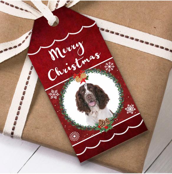 English Springer Spaniel Dog Christmas Gift Tags