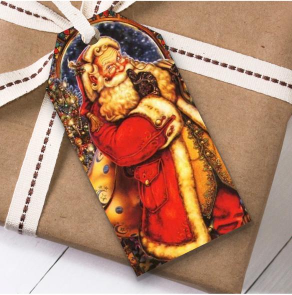 Large Santa Traditional Christmas Gift Tags