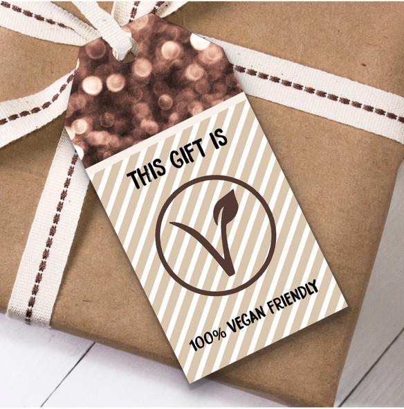 100% Vegan Friendly Christmas Gift Tags